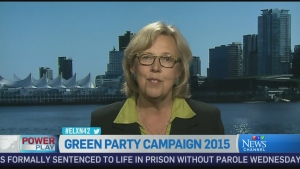 Green Party Leader Elizabeth May says 'Stephen Har