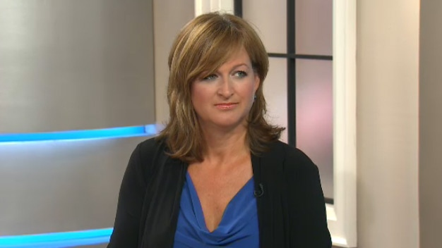 Paralegal April Stewart appears on CTV's Canada AM on Thursday, Aug. 27, 2015.
