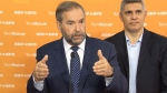 CTV News Channel: Mulcair touts Thomson's record