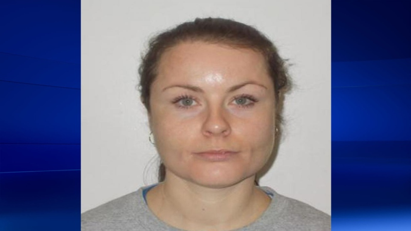 Lisa Marie Hutchinson is seen in this photograph released by Ontario Provincial Police.