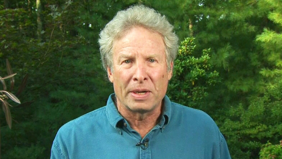 Andy Parker, the father of slain WDBJ reporter Alison Parker, speaks about his daughter's death on CTV News Channel on Thursday, Aug. 27, 2015.