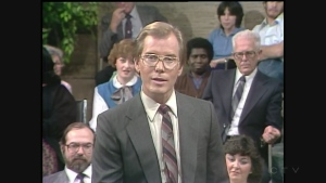 Brian Gazzard hosted a daytime talk show on CFCF-12 from 1985 to 1987