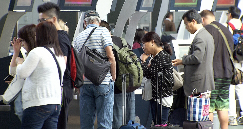 The declining dollar is causing Canadian tourists to avoid travel in the U.S., experts say.
