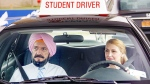Patricia Clarkson and Sir Ben Kingsley are seen in scene from 'Learning to Drive.' (Broad Green Pictures)