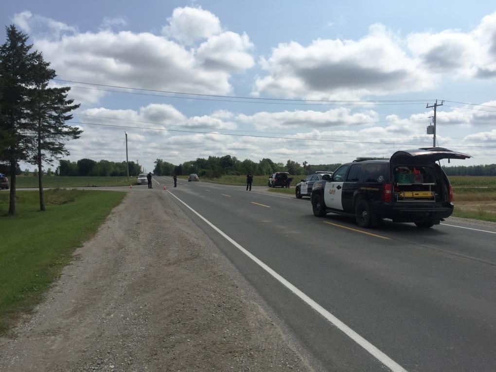 Cyclist/SUV crash