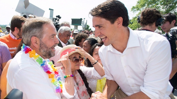 Openly gay political figures such as Scott Brison