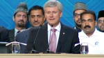 LIVE1: Harper makes an announcement in Mississauga