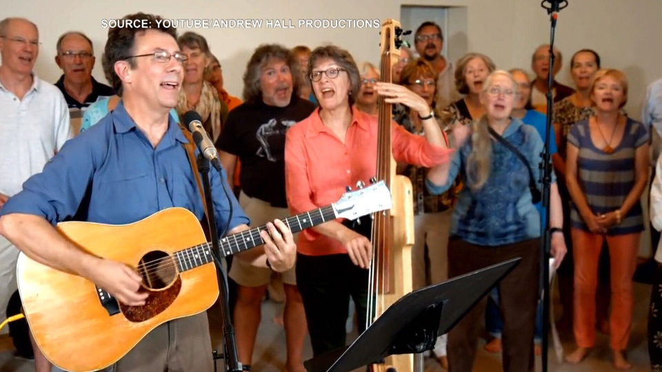 'Harperman' was written by scientist and Ottawa folk singer Tony Turner. The controversial song was posted on YouTube in June, ahead of the fall federal election, and has been viewed nearly 67,000 times as of Friday evening.