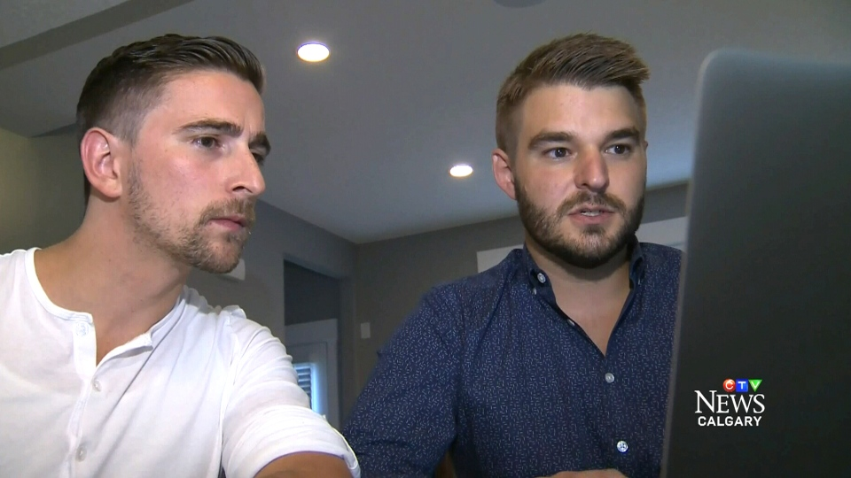 John Risdon and Chris Adam speak to CTV Calgary about the Air Canada glitch after buying tickets online.