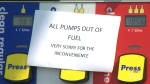 Fuel shortage in Atlantic Canada