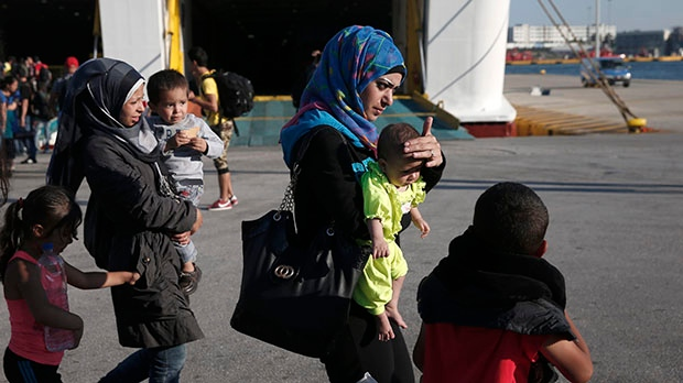 Syria migrants