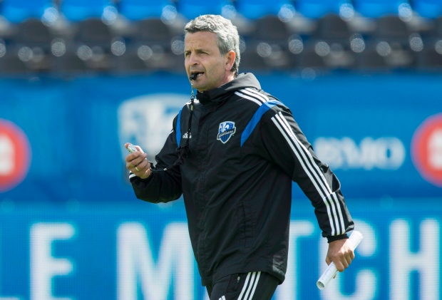 Montreal Impact coach Frank Klopas fired