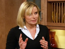 Tana Ramsay, wife of celebrity chef Gordon Ramsay, appears on CTV's Canada AM on Wednesday, Nov. 19, 2009.