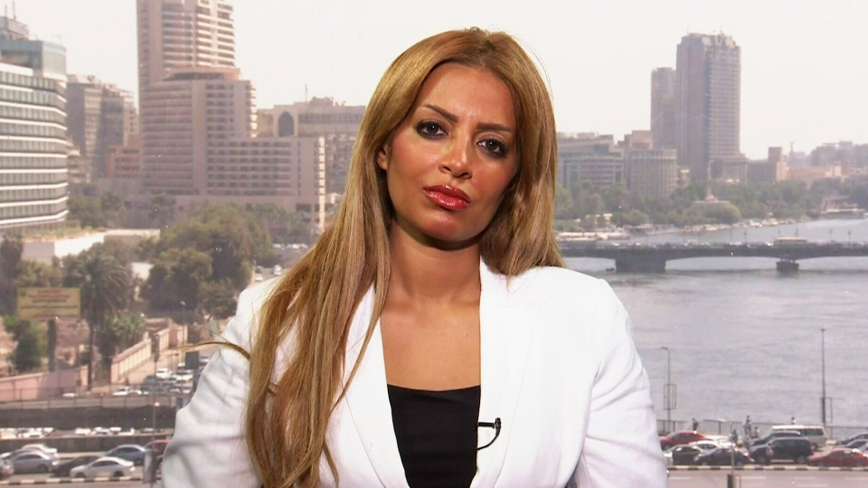 Marwa Omara, wife of Canadian journalist Mohamed Fahmy, speaks to CTV's Canada AM from Cairo, Aug. 31, 2015.