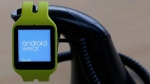 Android Wear smartwatch at Google I/O 2015 in San Francisco, on May 28, 2015. (Jeff Chiu / AP)