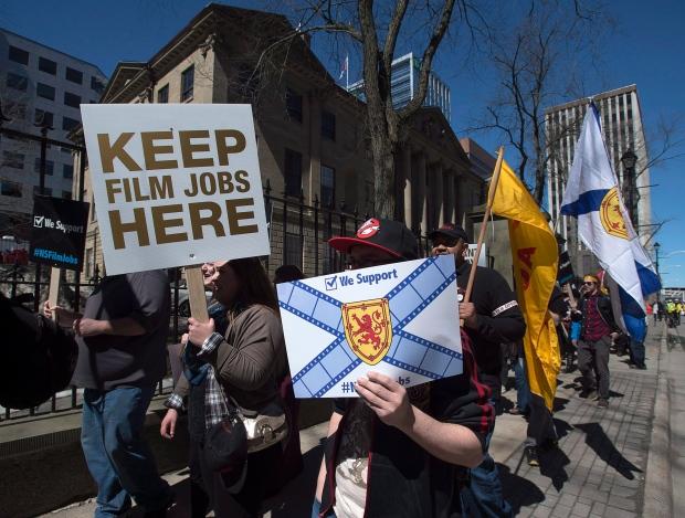 Members of Nova Scotia's film industry