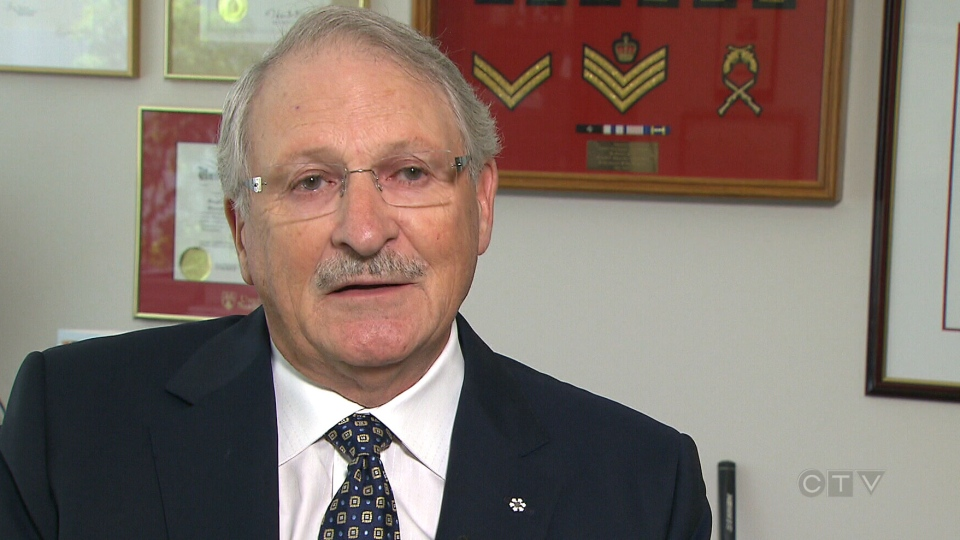 Former RCMP Commissioner Norman Inkster speaks with CTV News, Monday, Aug. 31, 2015.