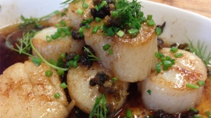 Now You're Cooking: Grilled scallops