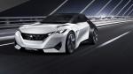 The Peugeot Fractal Concept car