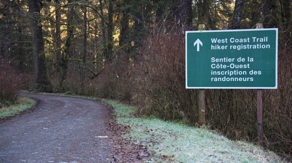west coast trail vancouver island b.c.