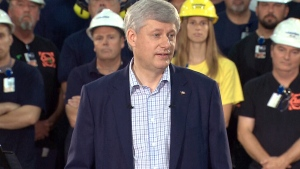 LIVE2: Harper delivers remarks in Sault Ste. Marie