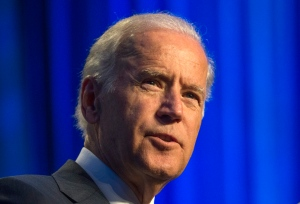 In this July 16, 2015 file photo, U.S. Vice-President Joe Biden speaks at Generation Progress's 10th Annual Make Progress National Summit in Washington. (AP / Molly Riley)