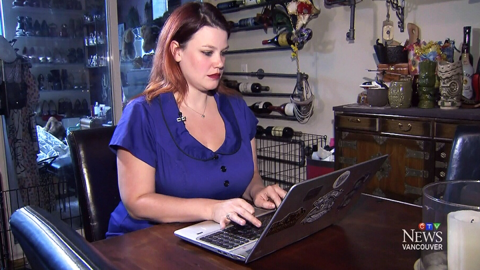 Ruby Roxx said she was surprised and angered when she found a heavily edited photograph of herself on the now-defunct Facebook page called Project Harpoon.