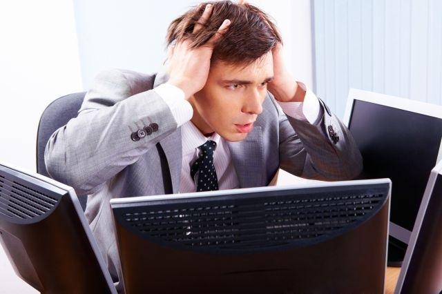 Computer work stress