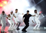 Justin Bieber performs at the MTV Video Music Awards at the Microsoft Theater on Sunday, Aug. 30, 2015, in Los Angeles. (AP / Invision / Matt Sayles)