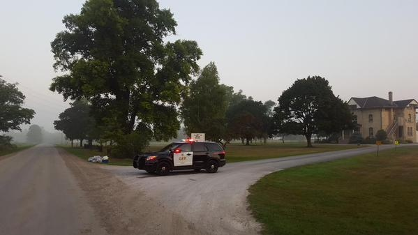OPP investigated a bomb threat at Craigwood Youth Services near Ailsa Craig, Ont., on Wednesday, Sept. 2, 2015. (Justin Zadorsky / CTV London)
