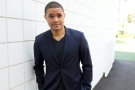 In this July 29, 2015 file photo, Trevor Noah, host of the new 'The Daily Show with Trevor Noah,' poses for a portrait in Beverly Hills, Calif. (Invision /  Matt Sayles)