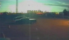 CTV Edmonton security cameras caught the meteor approach and then create a massive flash in the skyline on Thursday evening, Nov. 20, 2008.