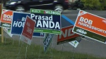 Voters in the riding of Calgary-Foothills head back to the polls to vote for their new MLA on Thursday, Sept. 3, 2015.