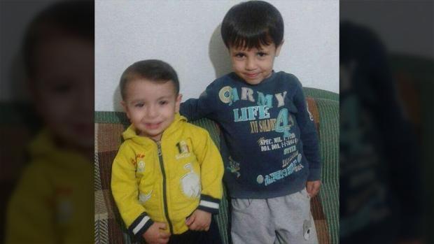 Galib and Alan Kurdi