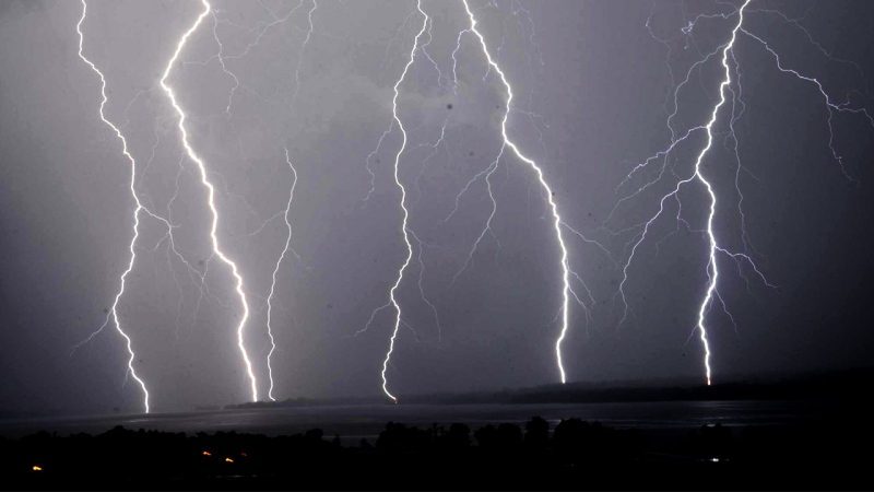 Environment Canada warns of gusts of up to 90 km/h, lightning and hail are possible in Kirkland Lake, Temiskaming Shores, Temagami, Gogama and Foleyet. (File)