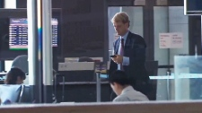 Chris Alexander arrives in Ottawa