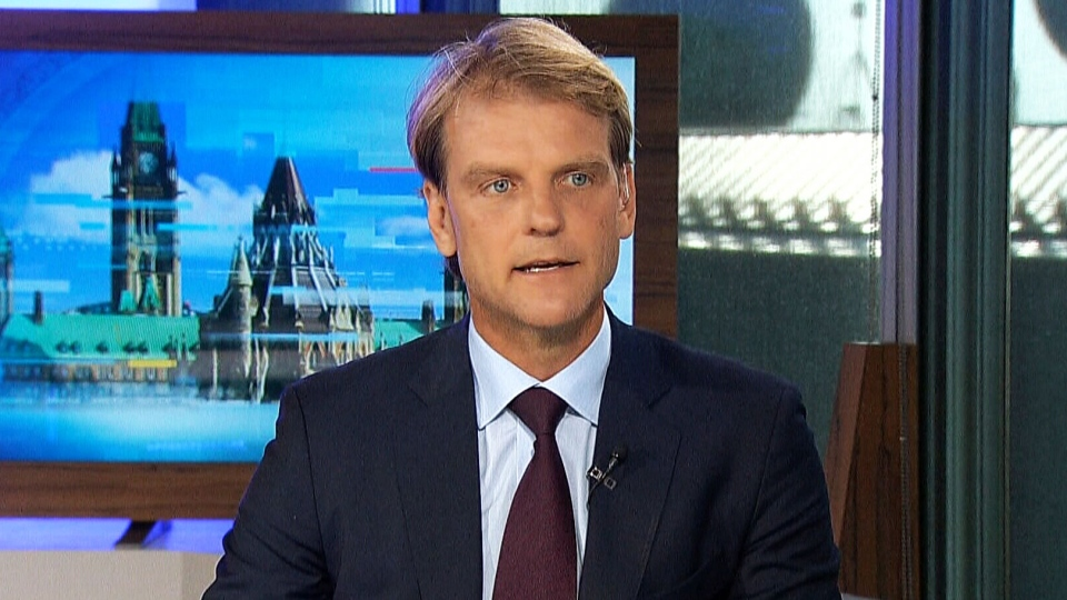 Immigration Minister Chris Alexander speaks about the migrant crisis on CTV Power Play, on Thursday, Sept. 3, 2015.