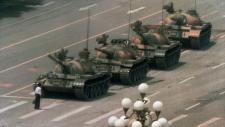 Tiananmen Square's tank man