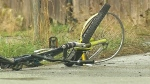 Saanich cyclist dragged 450 metres by semi truck