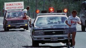 Runner Terry Fox is pictured on his Marathon of Hope run across Canada, Sept. 1980. (CP PHOTO/ files)