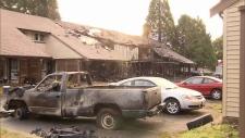 Pitt Meadows Fire Truck Burned