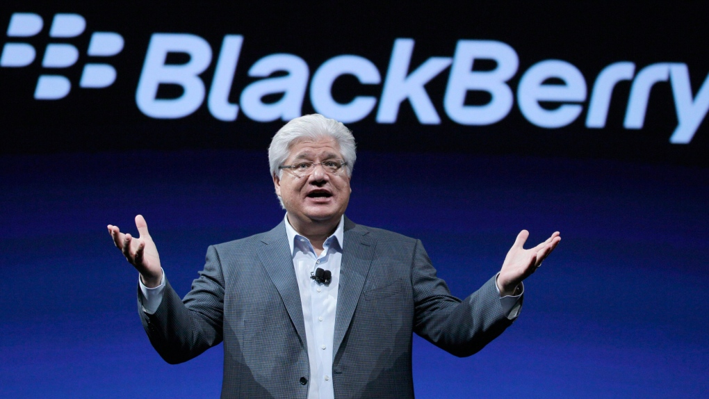BlackBerry founder Mike Lazaridis