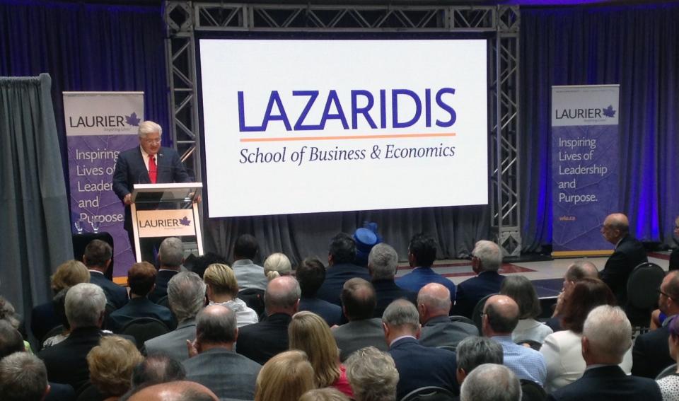 Lazaridis announcement
