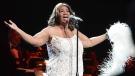 Aretha Franklin sings in Bridgeport Conn., on Friday, March 20, 2015. (AP Photo/The Hour, Alex von Kleydorff)