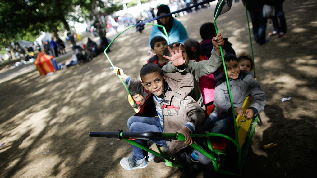 Refugee children from Syria in Germany