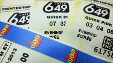 The jackpot for the next Lotto 649 draw on June 20 will be approximately $5 million.