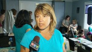 Rehtaeh Parsons' mother, Leah Parsons, speaks to CTV Atlantic at a fundraiser in her daughter's memory.