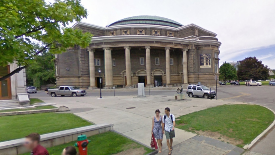 The University of Toronto St. George Campus is shown in this Google Street View image.