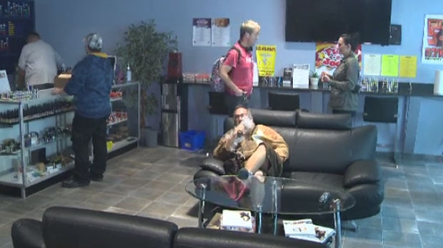 The Cold Turkey is a vape shop that allows users to puff e-cigarettes, free of judgement.