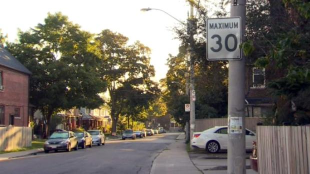 Speed limit in Toronto